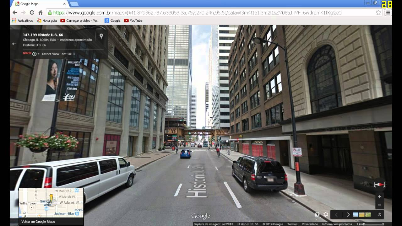Start Of Route In Chicago Illinois YouTube - Route 66 youtube