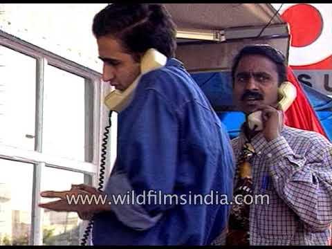 MTNL ( Mahanagar Telecom Nigam Limited ) - Lifeline of Delhi and Mumbai: archival footage