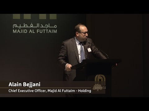 Day 1 Key Highlights   Majid Al Futtaim - Holding CEO, Alain Bejjani