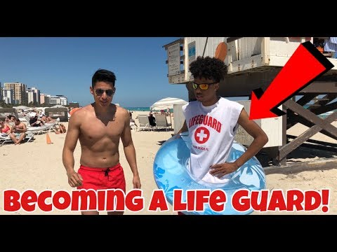 IM QUITTING YOUTUBE TO BECOME A LIFE GAURD (GETS EMOTIONAL)