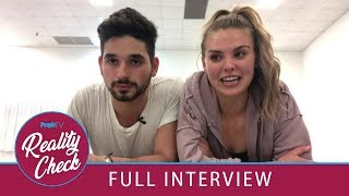 Download DWTS' Hannah Brown & Alan Bersten Talk Rehearsal Tricks, Bachelorette Exes & More! | PeopleTV Mp3 and Videos