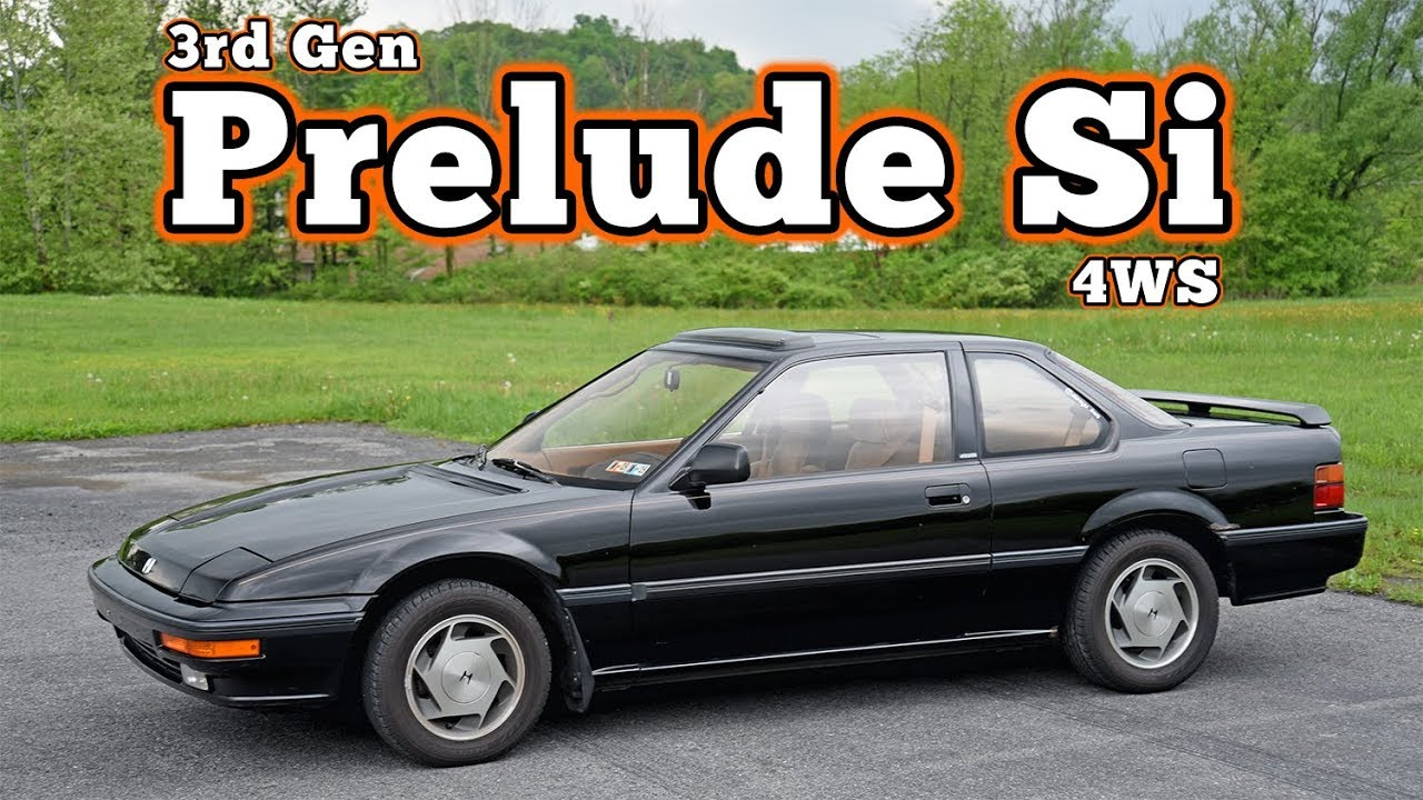 1989 honda prelude si 4ws regular car reviews youtube. Black Bedroom Furniture Sets. Home Design Ideas