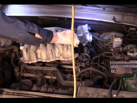 How to change the spark plugs on a 2007 Hyundai Santa Fe - YouTube