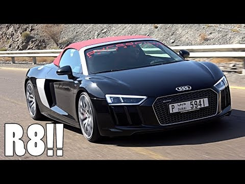 THIS COULD BE MY NEXT CAR | AUDI R8 SPYDER!!