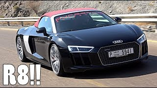 THIS COULD BE MY NEXT CAR   AUDI R8 SPYDER!!