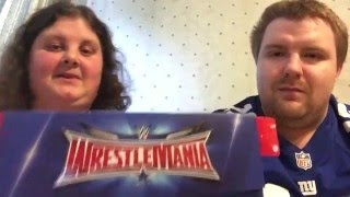 Wrestlemania 32 Silver Travel Package Unboxing