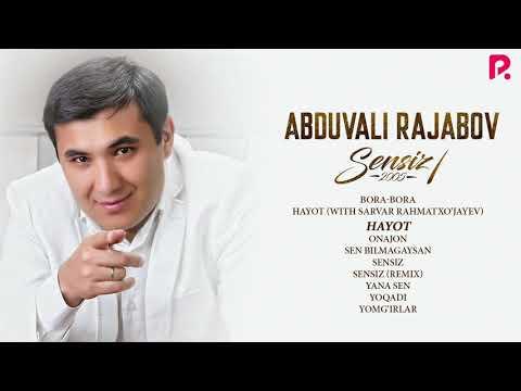Abduvali Rajabov – Sensiz nomli albom dasturi 2005