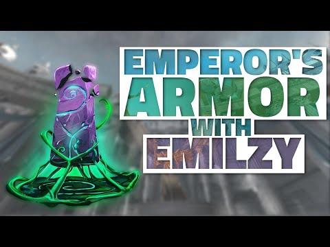 SMITE: UNDER THE RADAR?! Emperor's Armor with EmilZy