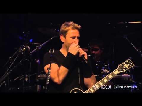 Nickelback - Porn Star  Good joke ( Live Nation 2014 )