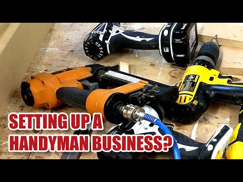 Setting Up A Handyman Business - How Much To Charge? (part 1)