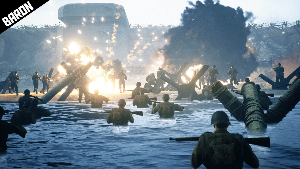 Play The F Ckin Objective Days Of War D Day Gameplay