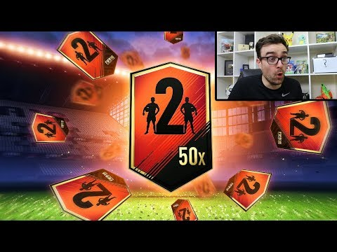 50 TWO PLAYER PACKS!!!