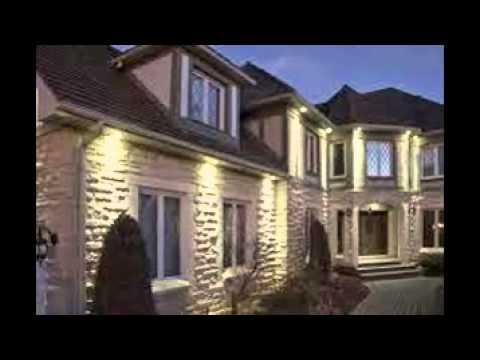 outdoor recessed lighting youtube