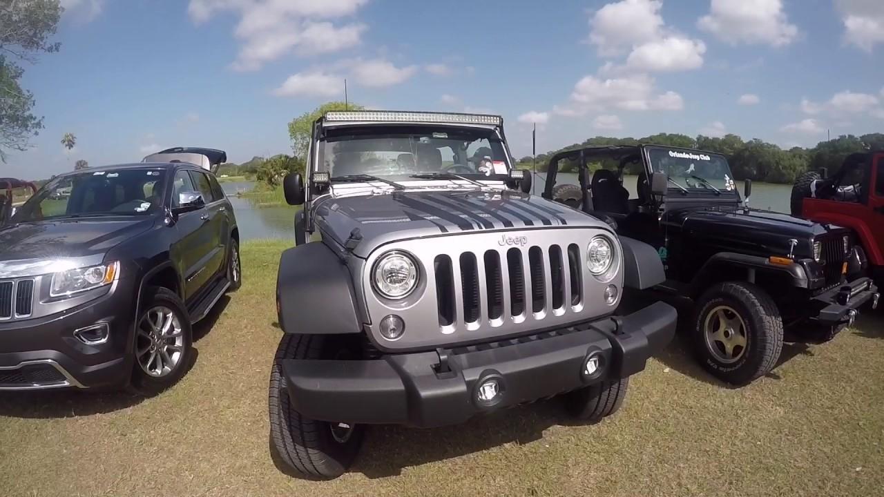 The Lakeland Jeep Club Go Show and Shine - YouTube