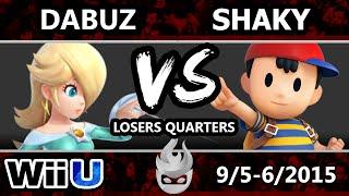 Paragon LA - IQHQ | Dabuz (Rosalina) Vs. Shaky (Ness/Pikachu) SSB4 Losers Quarters - Smash Wii U