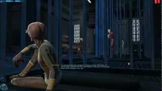 SWtOR Sith Warrior Story Cutscenes Pt. 1 [Prologue Start / Korriban / Light Side]