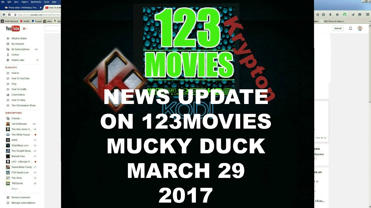 Breaking News On 123Movies March 29 2017