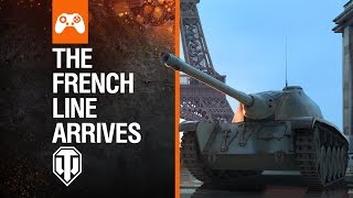 World of Tanks Console - The French Line Arrives