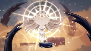 Hollow knight - Final boss the Radiance (true ending - Dream No More)