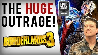 Randy Pitchford SLAMS Steam After Borderlands Review Bombed (Borderlands 3 Epic Games Store Mess)