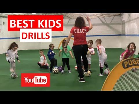 BEST SOCCER DRILLS FOR KIDS Essential Football Drills for Kids