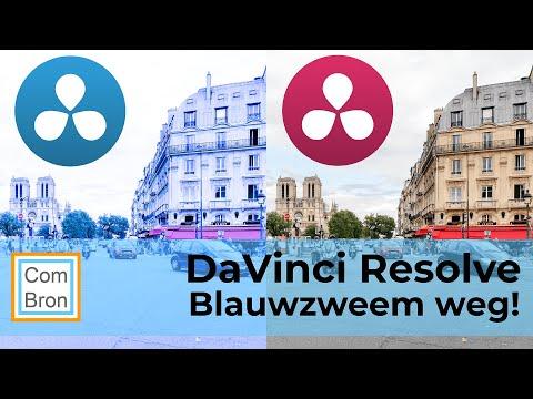 BLAUWZWEEM verhelpen door white balance aan te passen - DaVinci Resolve Quick Tip #2