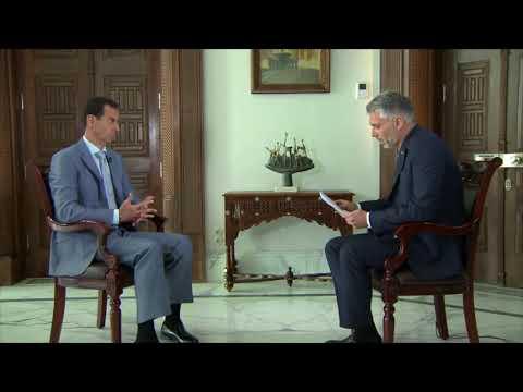 Assad slams western journalism for White Helmets propaganda Interview, Swiss SRF1 TV