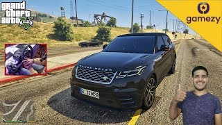 GTA 5 : PICKING UP UBER RIDERS IN A RANGE ROVER | LOGITECH G29 WITH SHIFTER |