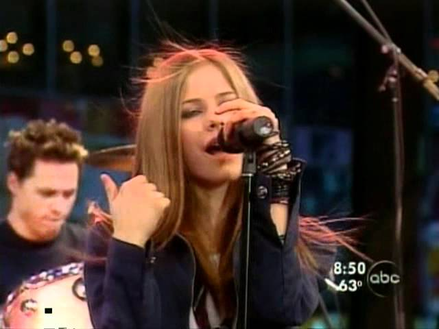 Good Morning America How Are You Chords : Avril lavigne complicated live good morning america