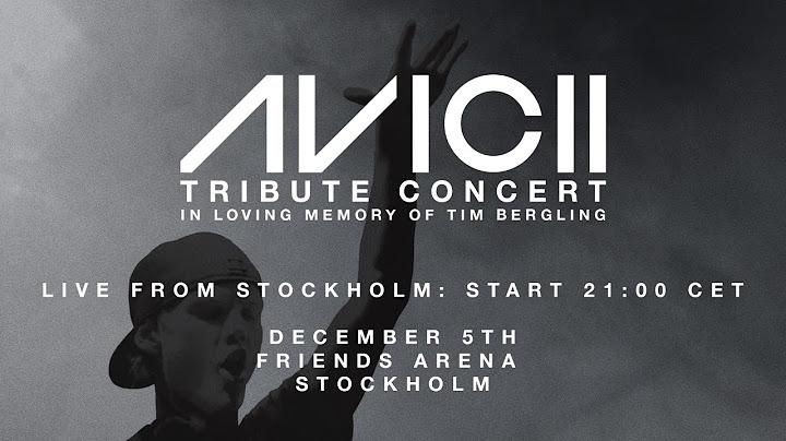 avicii tribute concert in loving memory of tim bergling