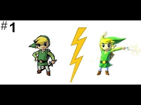 Let's Race The Legend of Zelda: The Wind Waker GCN vs. Wii U Part 1 - Forsaken Fortress