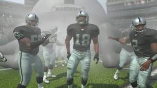 2007-2006 Oakland Raiders 4 Stars Player Introductions Madden NFL 07 PS3