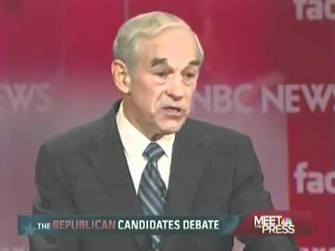 Ron Paul Highlights ∞ 1/8/12 NBC Debate New Hampshire Facebook Frontrunner Revolution