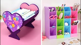 3 Creative ideas from cardboard. Storage box //The best of waste