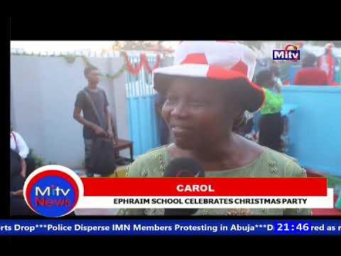 EPHRAIM SCHOOL CELEBRATES CHRISTMAS PARTY