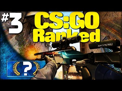 SUCH A CLOSE MATCH!.....not -_- │Road to Getting Ranked│#3 (CS GO Competitive)