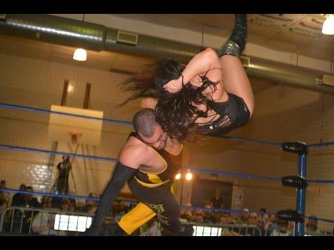 Seleziya Sparx VS. Eddie Kingston - Absolute Intense Wrestling [Intergender Wrestling]