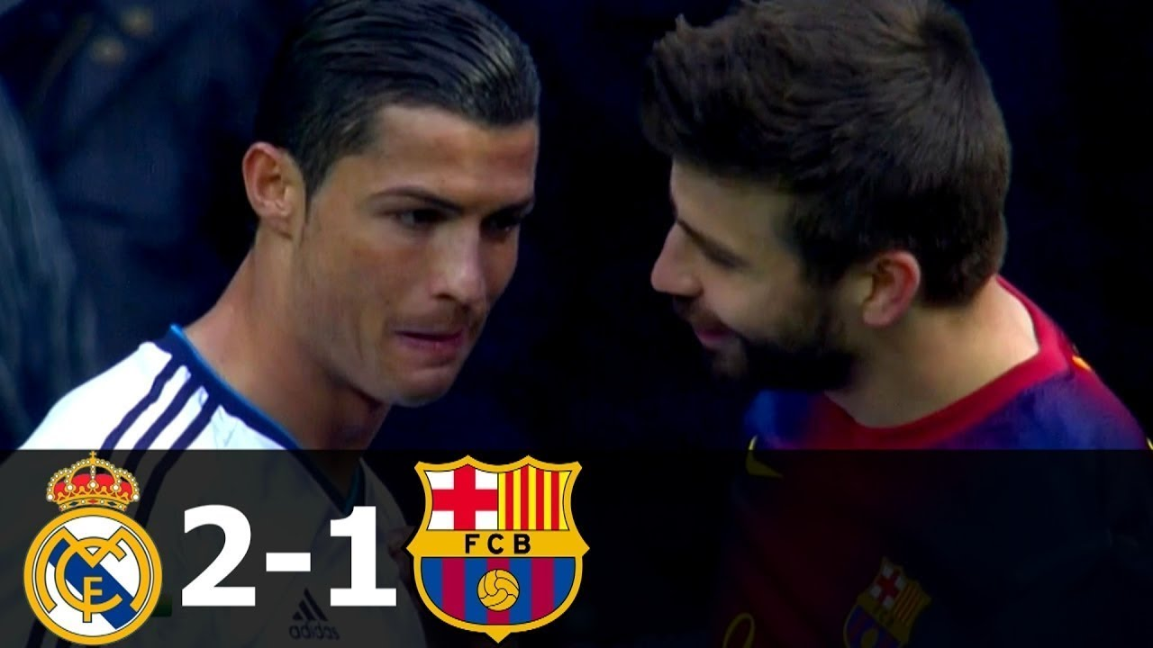Download Real Madrid vs FC Barcelona 2-1 All Goals and Highlights with English Commentary 2012-13 HD 1080i