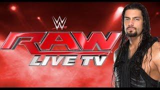 wwe monday night raw 4 11 16 live stream wwe raw 11th april 2016 live stream