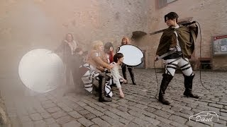 Attack on Titan / Shingeki no Kyojin [進撃の巨人] - Cosplay photo shooting behind the scenes