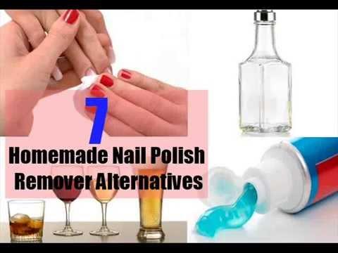 7 Homemade Nail Polish Remover Alternatives  YouTube