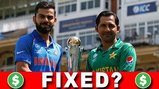 WAS INDIA vs PAKISTAN FINAL FIXED?