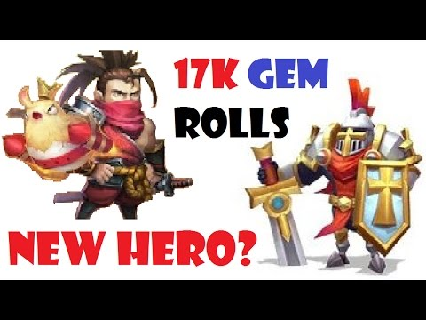 17k Gems Rolled For RONIN New Hero Castle Clash TW Update