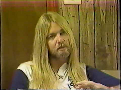 Gregg Allman interview  - PART 1 of 14 - Dickey Betts - Saenger Theater New Orleans 1982