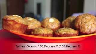 Carrot-apple Muffins Recipe