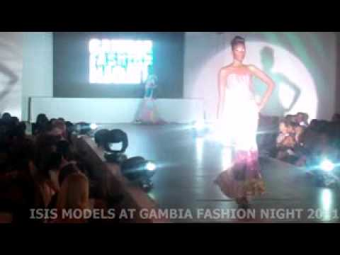 The Gambia Fashion Night 2011 - ISIS Models Updates by FASHION NETWORK AFRICA TEAM