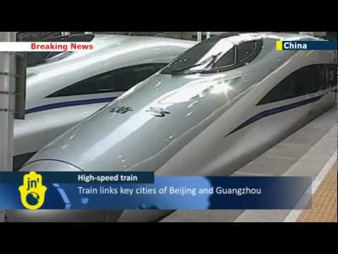 China opens world's longest high-speed rail line: bullet train links Beijing with Guangzhou