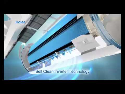 Haier Air Conditioners with Self Clean Inverter Technology
