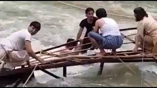 Neelum Valley bridge  broken video