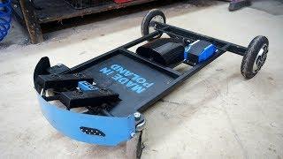 Making ELECTRIC self driving CAR SEAT